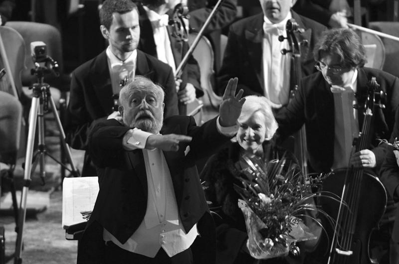 Krzysztof Penderecki (2011), fot. Lucyna Witkowska